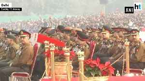 Army jawans perform full dress rehearsal ahead of Army Day [Video]