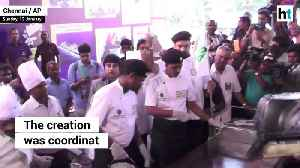 60 Indian chefs try making the world's largest dosa in Chennai [Video]