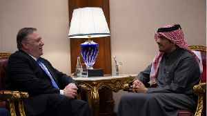 News video: Pompeo Arrives In Riyadh Urging Gulf States To Heal Rift