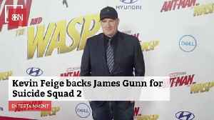 Kevin Feige Believes In James Gunn For 'Suicide Squad 2' [Video]