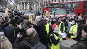 """Clashes at """"Broken Britain"""" anti-austerity march in London [Video]"""