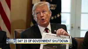Day 23 of partial government shutdown, the longest in US history [Video]