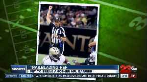Sarah Thomas to become first woman to officiate an NFL playoff game [Video]