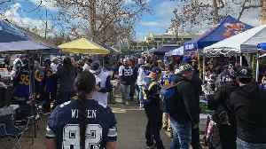 Tailgaters Hyped For Dallas Cowboys Vs Los Angeles Rams Playoff Game [Video]