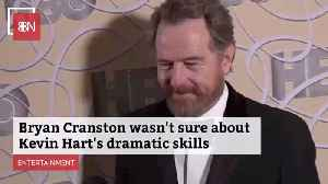 Kevin Hart Proves His Acting Chops To Bryan Cranston [Video]