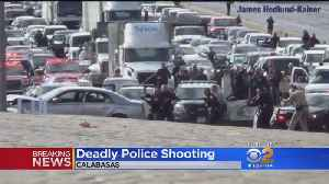 Deadly Police Shooting Backs Up Traffic On 101 [Video]