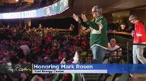 Mark Rosen Ends Farewell Tour With Honor At Wild Game [Video]