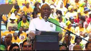 South Africa's ANC launches election manifesto [Video]