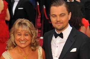 Leonardo DiCaprio's mother soaks fans [Video]
