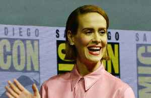 News video: Sarah Paulson reveals what it was like working with Samuel L Jackson
