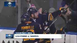 Lightning strike late, top Sabres 5-3 [Video]