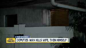 Deputies: Manatee County man kills wife, then self [Video]