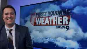 More clouds and rain chances this week [Video]