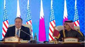 News video: Secretary of State Pompeo Urges Gulf States to Heal Rift