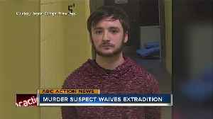 Quadruple murder suspect waves rights to extradition [Video]