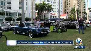 Supercar Week event held in Palm Beach County [Video]