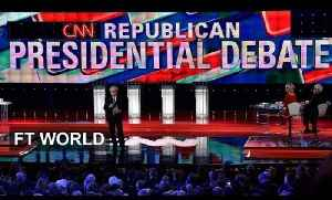Security dominates Republican debate | FT World [Video]