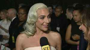 Lady Gaga Reacts to ET's Viral Interview Moment With Her at the Golden Globes (Exclusive) [Video]