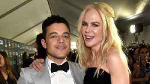 Watch Rami Malek and Nicole Kidman Reunite After Awkward Golden Globes Moment! (Exclusive) [Video]