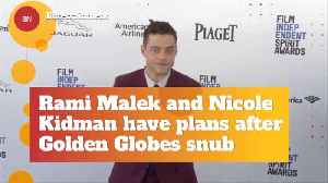 Rami Malek And Nicole Kidman Address A Perceived Awkward Awards Moment [Video]