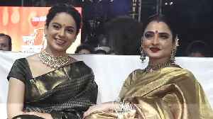 If I had a daughter she would have been like Kangana: Rekha [Video]