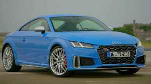 Audi TTS Exterior Design in Turbo blue [Video]