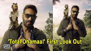 News video: Ajay with a Monkey in 'Total Dhamaal' | First Look Out