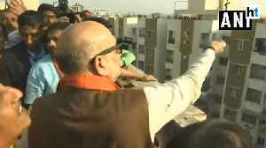 News video: Amit Shah flies kites in Gujarat on Makar Sankranti