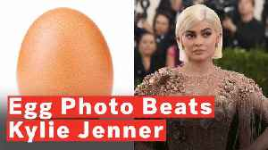 News video: Egg Beats Kylie Jenner To Become Most-Liked Instagram Photo Ever