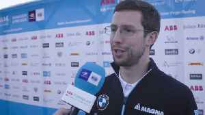 Formula-E Championship Marrakesh E-Prix 2019 - Alexander Sims - Reaction [Video]