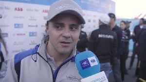 Formula-E Championship Marrakesh E-Prix 2019 - Felipe Massa - Reaction [Video]