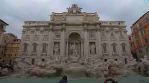 News video: Trevi fountain coins diverted from charity to city hall coffers