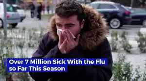 Over 7 Million Sick With the Flu so Far This Season [Video]