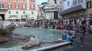 Row in Rome over how to spend Trevi Fountain coins [Video]
