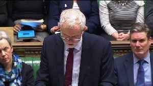 News video: Jeremy Corbyn: PM has 'completely and utterly failed' to get