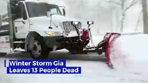 Winter Storm Gia Leaves 13 People Dead [Video]