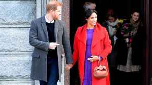 Meghan Markle Reveals When She is Due [Video]