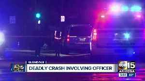Motorcyclist killed in crash involving Glendale police unit near Grand and Myrtle avenues [Video]