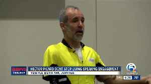 Hector Picard Dont Stop living speaking engagement [Video]