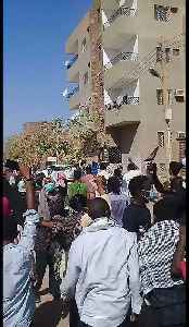 Gunfire Reported as Sudanese Forces Crack Down on Protest [Video]
