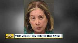 Florida woman arrested for threatening mass shooting during memorial for K9 officer [Video]