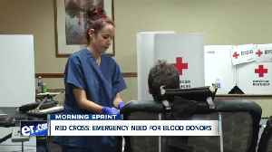 American Red Cross issues emergency call for Western New York blood donors [Video]
