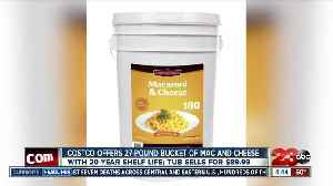 Costco offers 27-pound bucket of mac and cheese [Video]