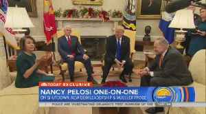 Pelosi On Trump Manhood Comments — Not Happy My Members Leaked That [Video]