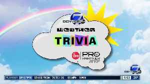 Weather trivia on Jan. 14: When was the snowiest January in Colorado? [Video]