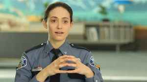 Emmy Rossum Talks About Crime In A Small Town [Video]