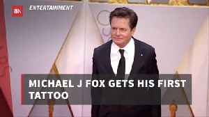 Michael J. Fox Gets A Tattoo That Has Meaning For Him [Video]