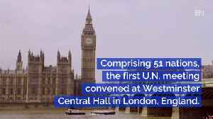 News video: The First Meeting Of The United Nations: This Day In History