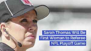 Finally A Woman Referee In The NFL [Video]