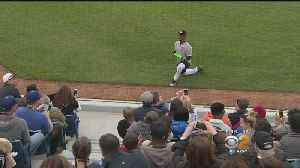 News video: Celebrity Softball Game Raises Funds For Fire, Shooting Victims